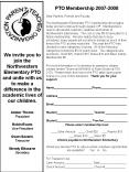 We invite you to join the Northwestern Elementary PTO and unite with us to make a difference in the academic lives of our children. Amber Thorne President Robin Evans Vice President Gwen Savario Treasurer Wendy Elbourne Secretary PowerPoint PPT Presentation