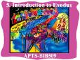 5. Introduction to Exodus PowerPoint PPT Presentation