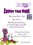 Easter Egg Hunt PowerPoint PPT Presentation