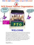 NCE Parent Teacher Organization PowerPoint PPT Presentation