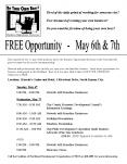 FREE Opportunity  -  May 6th PowerPoint PPT Presentation