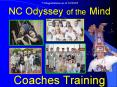 NC Odyssey of the Mind   Coaches Training PowerPoint PPT Presentation