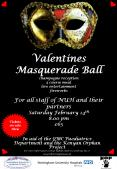 Valentines Masquerade Ball champagne reception 3 course meal live entertainment fireworks For all st PowerPoint PPT Presentation