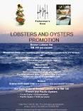 LOBSTERS AND OYSTERS PROMOTION PowerPoint PPT Presentation