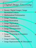 Digital Image Processing PowerPoint PPT Presentation