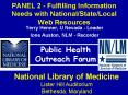 PANEL 2 - Fulfilling Information Needs with National/State/Local Web Resources PowerPoint PPT Presentation