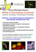 MRes in Biomedical Sciences Anatomy, Cell Biology, Pharmacology PowerPoint PPT Presentation