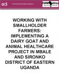 WORKING WITH SMALLHOLDER FARMERS: IMPLEMENTING A DAIRY GOAT AND ANIMAL HEALTHCARE PROJECT IN MBALE A PowerPoint PPT Presentation