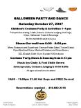 HALLOWEEN PARTY AND DANCE PowerPoint PPT Presentation