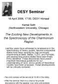 DESY Seminar 18 April 2006, 17:00, DESY Hrsaal Kamal Seth Northwestern University, Chicago The Excit PowerPoint PPT Presentation