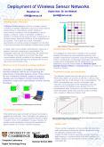 Deployment of Wireless Sensor Networks PowerPoint PPT Presentation