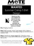 WANTED Summer Camp TShirt Design PowerPoint PPT Presentation