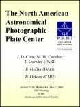 The North American Astronomical Photographic Plate Center PowerPoint PPT Presentation