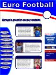 Euro Football PowerPoint PPT Presentation