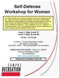 SelfDefense Workshop for Women PowerPoint PPT Presentation