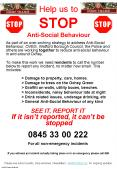 Help us to STOP AntiSocial Behaviour PowerPoint PPT Presentation