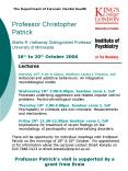 Professor Christopher Patrick Starke R. Hathaway Distinguished Professor University of Minnesota PowerPoint PPT Presentation