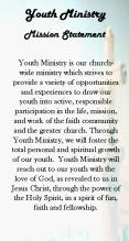 Youth Ministry is our churchwide ministry which strives to provide a variety of opportunities and ex PowerPoint PPT Presentation