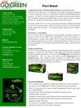 Company Overview. Biodegradable by Nature, Green by Choice PowerPoint PPT Presentation