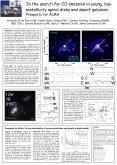 In the search for CO emission in young, low-metallicity spiral disks and dwarf galaxies: Prospects for ALMA PowerPoint PPT Presentation