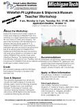 Whitefish Pt Lighthouse PowerPoint PPT Presentation