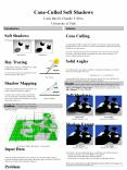 ConeCulled Soft Shadows PowerPoint PPT Presentation