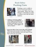 Back Safety: Pushing Carts PowerPoint PPT Presentation