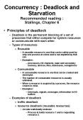 Concurrency : Deadlock and Starvation Recommended reading : Stallings, Chapter 6 PowerPoint PPT Presentation