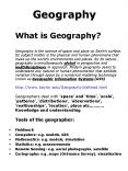 Geography PowerPoint PPT Presentation