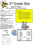 The 3rd Grade Star April 27May 1 Ms' Heilig Mrs' Ponceroff Mrs' Skillman PowerPoint PPT Presentation