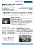 HP Mobile Science Lab for Science and Engineering Students PowerPoint PPT Presentation