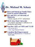 Dr' Michael M' Schutz PowerPoint PPT Presentation