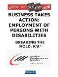 BUSINESS TAKES ACTION: EMPLOYMENT OF PERSONS WITH DISABILITIES PowerPoint PPT Presentation