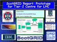ScotGRID Report: Prototype for Tier2 Centre for LHC PowerPoint PPT Presentation