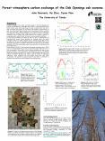 Forestatmosphere carbon exchange of the Oak Openings oak savanna PowerPoint PPT Presentation