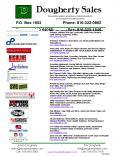 Dougherty Sales PowerPoint PPT Presentation