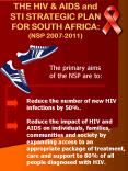 THE HIV PowerPoint PPT Presentation