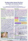 PovidoneIodine Induced Skin Burn: Case Report and Literature Review PeiChin Lin1,2, PiLai Tseng1,Yaw PowerPoint PPT Presentation