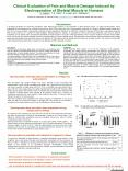Clinical Evaluation of Pain and Muscle Damage Induced by Electroporation of Skeletal Muscle in Human PowerPoint PPT Presentation