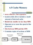 6'5 Cache Memory PowerPoint PPT Presentation