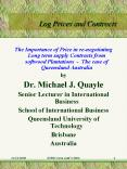 Log Prices and Contracts PowerPoint PPT Presentation