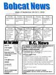 Bobcat News PowerPoint PPT Presentation