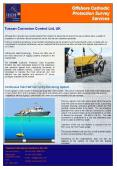 Offshore Cathodic Protection Survey Services PowerPoint PPT Presentation