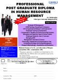 PROFESSIONAL POST GRADUATE DIPLOMA IN HUMAN RESOURCE MANAGEMENT PowerPoint PPT Presentation