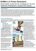 SHRM in LV Power Generators Wendy Webber Supervisors Drs' D Buttigieg PowerPoint PPT Presentation