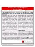 Transformation ConsultantFinance Business Partner PowerPoint PPT Presentation