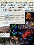 Cytogenetics, Biodiversity and Plant Evolution in Turkey and the Wider Middle East 11'30 am Monday, PowerPoint PPT Presentation