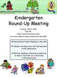 Kindergarten RoundUp Meeting PowerPoint PPT Presentation