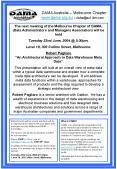 DAMA Australia Melbourne Chapter www'dama'org'au or clukeau1'ibm'com PowerPoint PPT Presentation