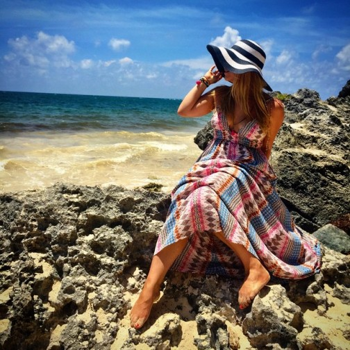 Instagram Look of the Day - Tulum by Katie Lindsay